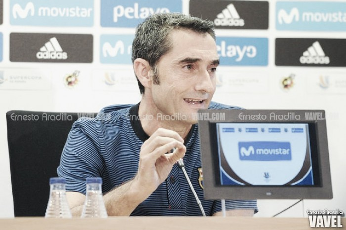 """Valverde: """"Nos jugamos un título y es todo más serio"""""""