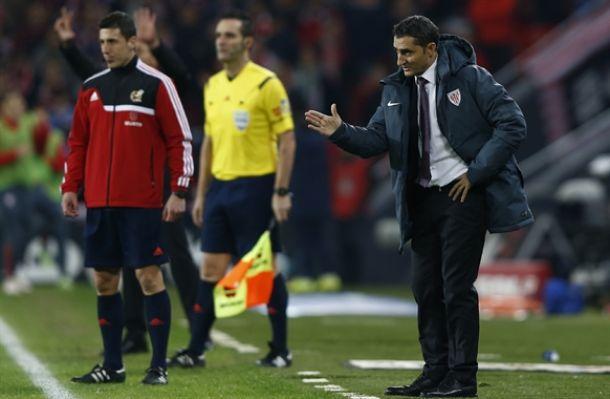 "Valverde: ""Me parece increíble haber perdido este partido"""