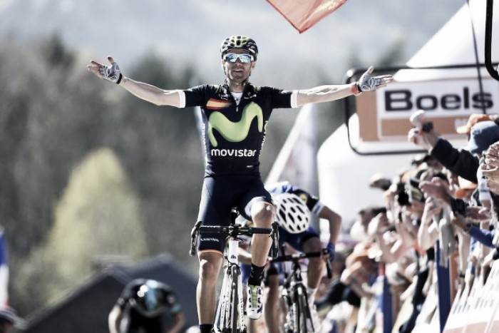 Valverde moves into class of his own following fourth Fleche Wallonne triumph