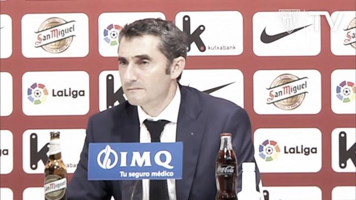 """Valverde: """"Esto no ha hecho más que empezar"""""""