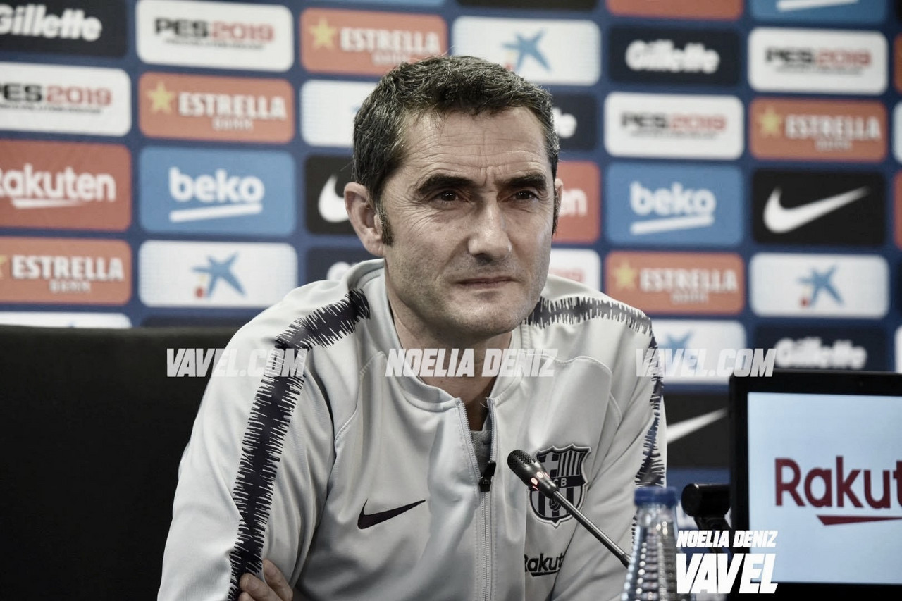 """Valverde: """"Queremos ganar la Liga cuanto antes"""""""