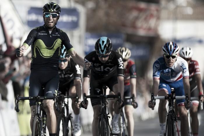 Alejandro Valverde también fascina en Andalucía