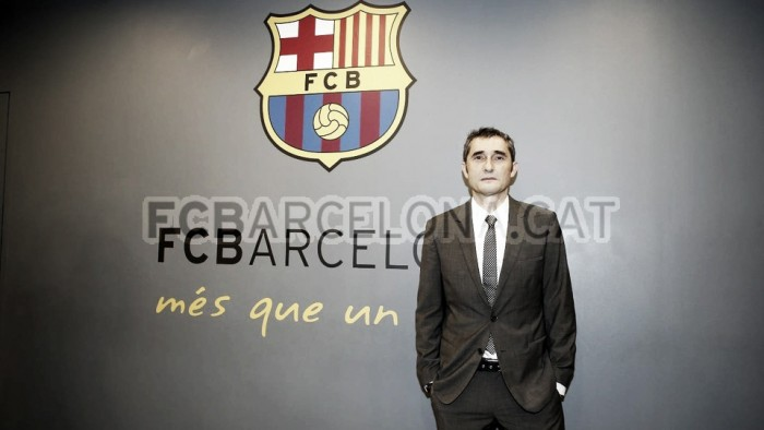 El faro del FC Barcelona se llama: Ernesto Valverde