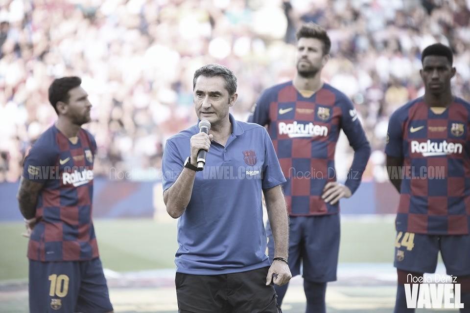 """Ernesto Valverde: """"Riqui Puig puede seguir creciendo en el Barça B"""""""