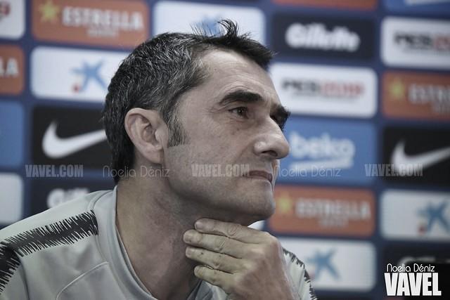 """Ernesto Valverde: """"Lo de Ansu Fati no es normal"""""""