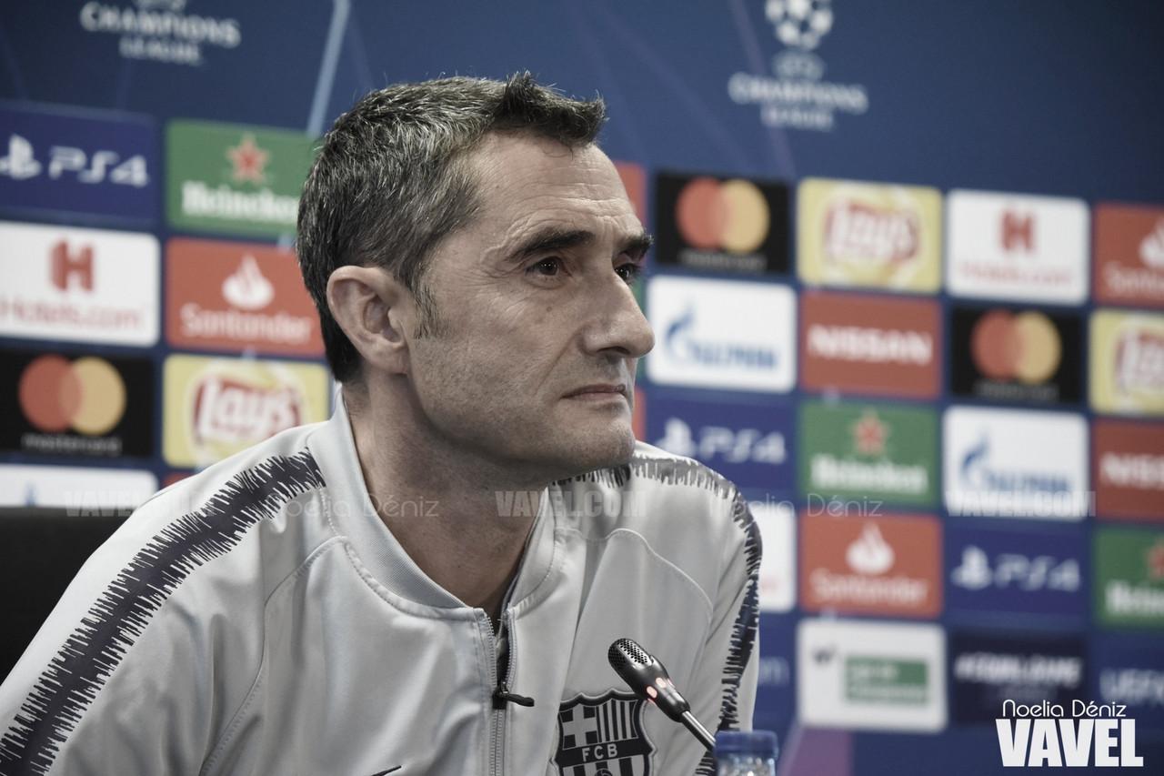 """Valverde: """"Es un contratiempo importante"""""""