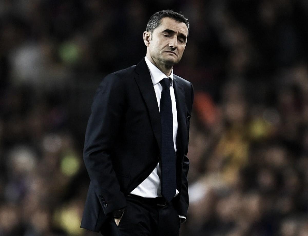 Valverde valoriza esforço do Barça após empate diante do Real com um a menos