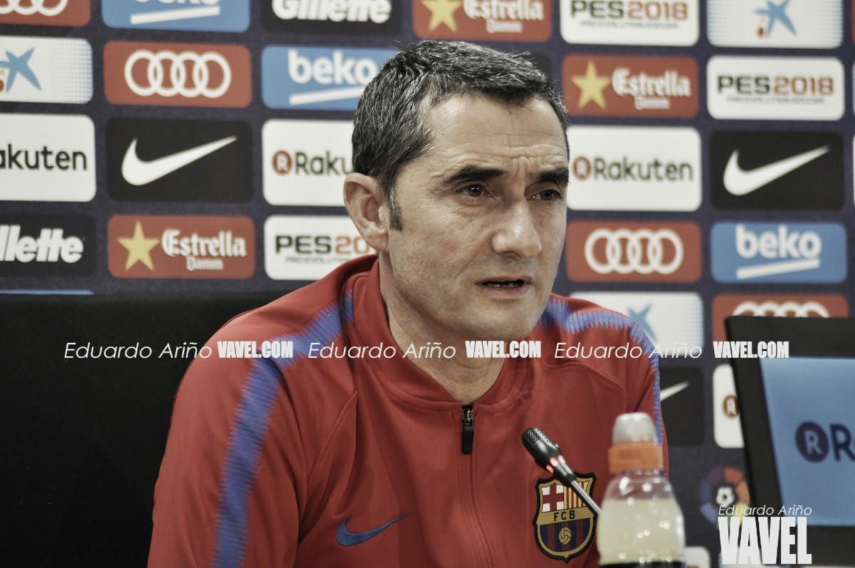 """Valverde: """"No me planteo dimitir"""""""