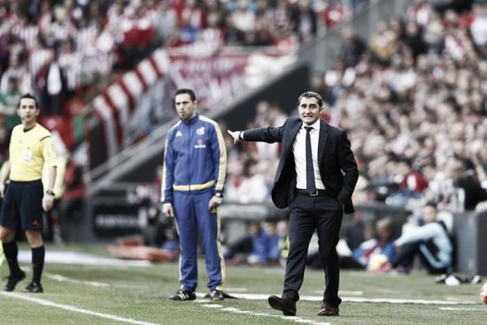 """Valverde: """"Estamos mentalizados de la dificultad del partido"""""""