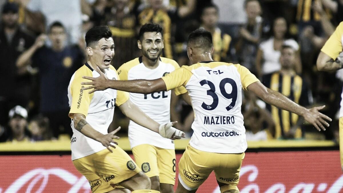 Central le ganó 3-1 a Chacarita