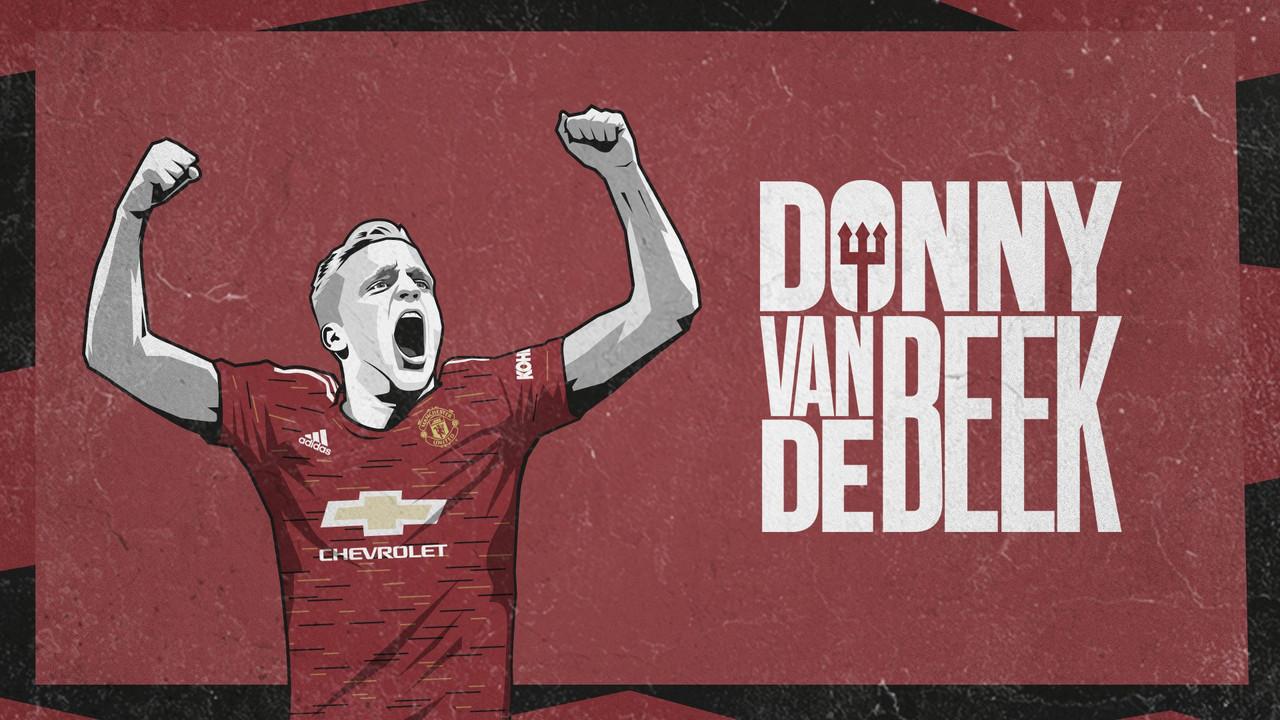 Manchester United anuncia meia van de Beek, primeiro reforço da temporada