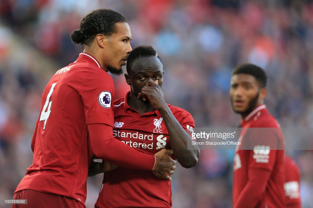 Liverpool duo Virgil van Dijk and Sadio Mané nominated for August Player of the Month award