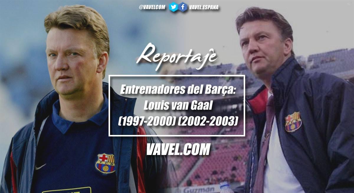 Las dos balas de Van Gaal en el Barça