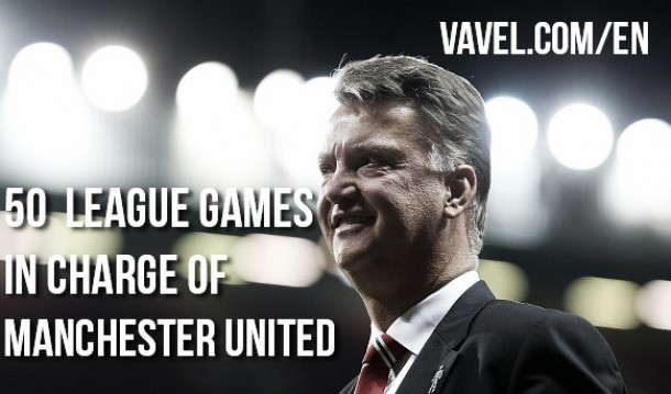 Louis van Gaal's Premier League fifty; How has he done?