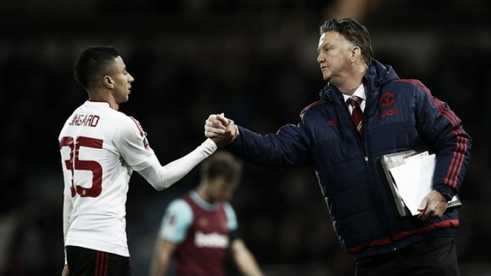 Louis van Gaal delighted as United book their place at Wembley