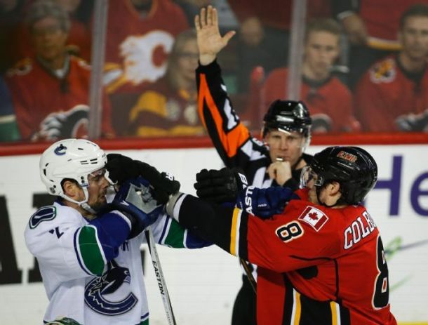 Sam Bennett Lifts Calgary Flames To Game Three Win Over Vancouver Canucks