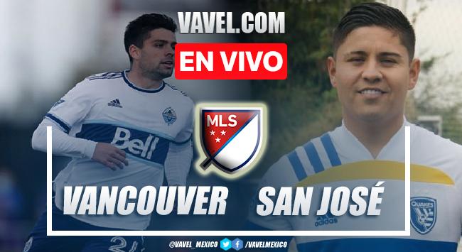 Goles y resumen del Vancouver Whitecaps 3-0 San José Earthquakes en MLS 2021