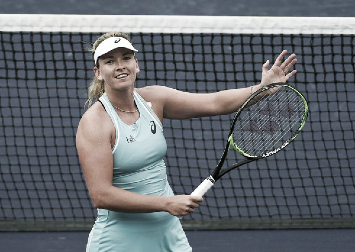 WTA Indian Wells: Coco Vandeweghe brushes aside Kaia Kanepi in straight sets