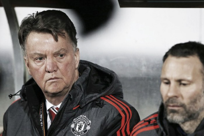 Louis van Gaal blames Murphy's Law for Manchester United's defeat in Denmark