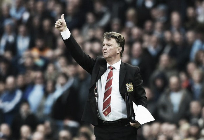 Louis van Gaal eyeing fourth place after derby day victory