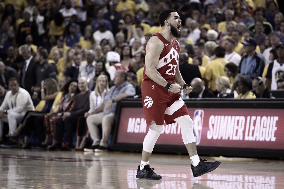 Campeonato a base de trabajo para los Raptors