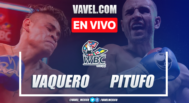 Resumen y mejores momentos de la victoria por nocaut técnico de Vaquero Navarrete ante Pitufo Díaz en Box 2021