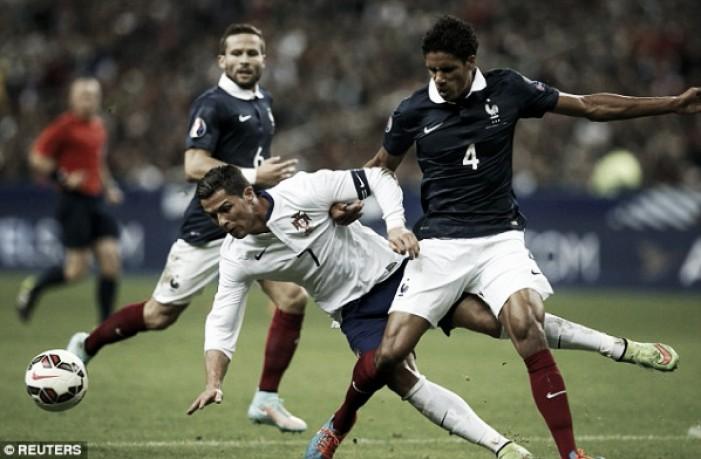 Raphael Varane ruled out of Euro 2016 due to injury