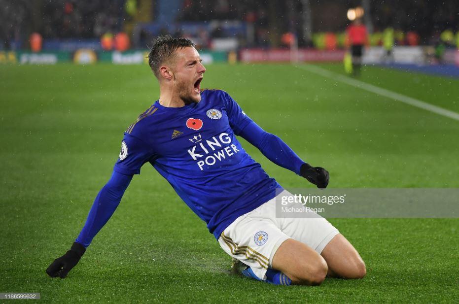 """England retirement """"paid off"""", says current Premier League top scorer Jamie Vardy"""
