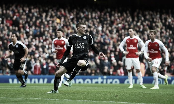Report: Arsenal activate Jamie Vardy's release clause