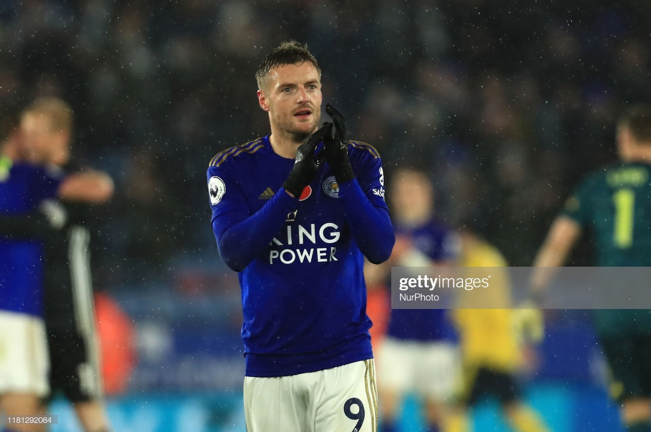 Vardy insists there's 'a long way to go' amidst Leicester's top four charge