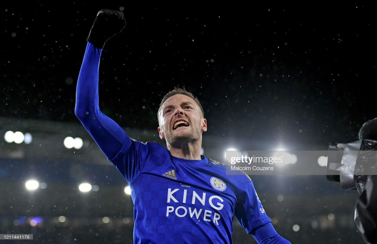 Leicester 'always' confident of returning to form, says Jamie Vardy