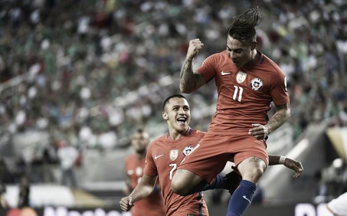 Chile massacra México, acaba com invencibilidade de Osório e vai à semifinal da Copa América
