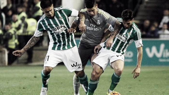 Juan Manuel Vargas y el Betis frenan al poderoso Real Madrid