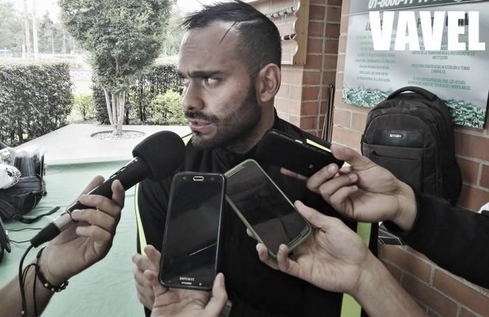 """Cristian Vargas: """"Con la salida de Franco Armani tengo una gran posibilidad de poder jugar"""""""