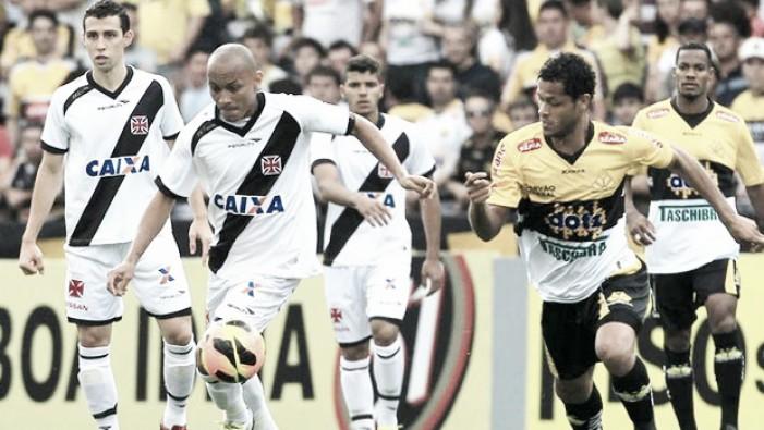 Mais uma vez sem Nenê, Vasco recebe Criciúma em São Januário