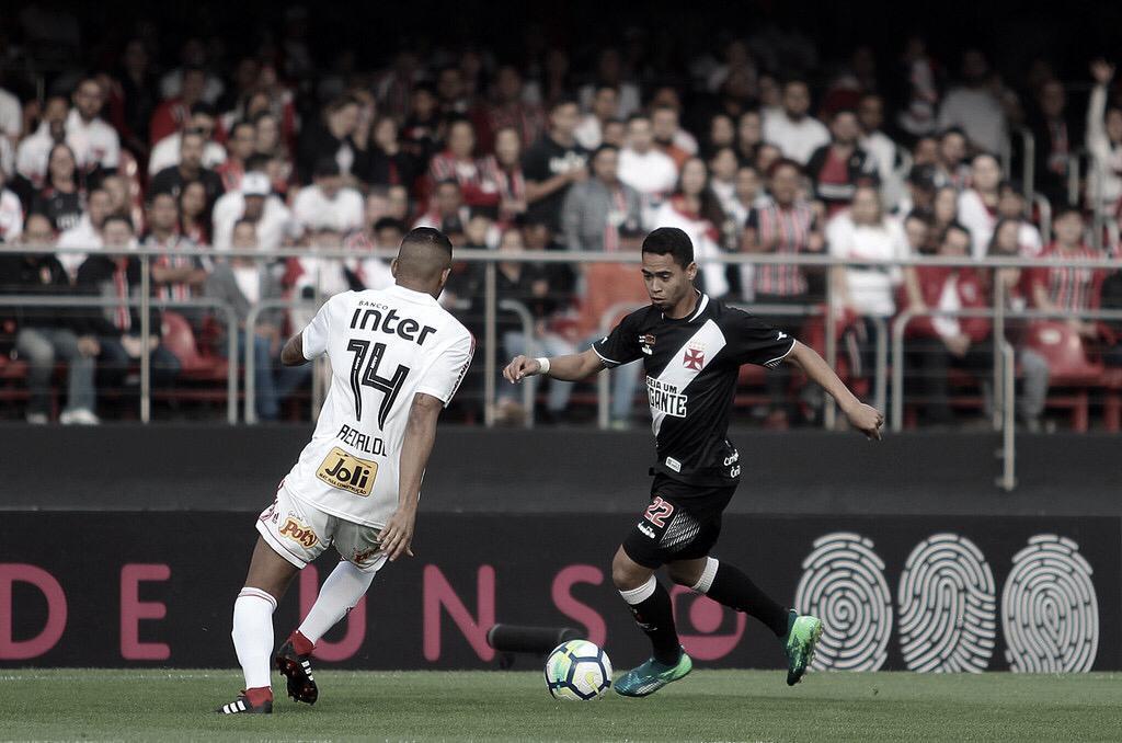 Em cenários distintos, Vasco e São Paulo se enfrentam no Brasileirão