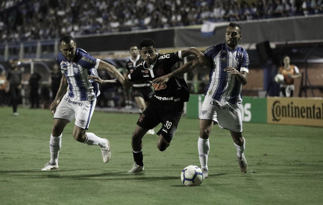 Resultado Vasco x Avaí no Campeonato Brasileiro (1-1)