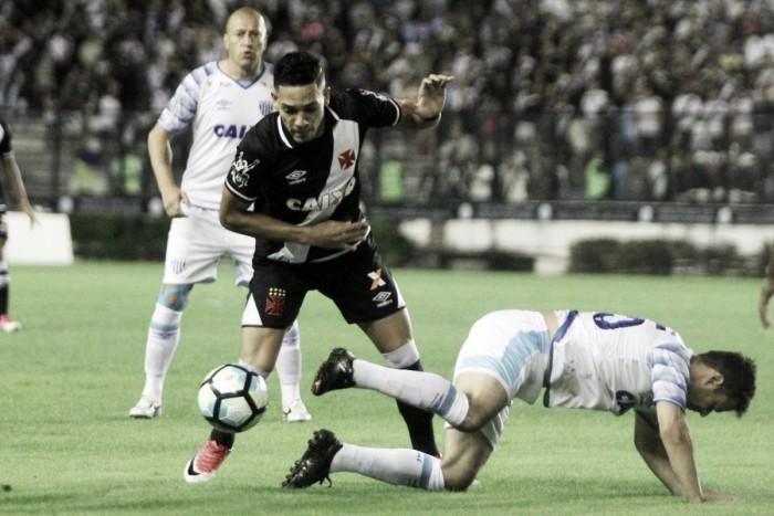 Vasco vence Avaí em São Januário e sobe na tabela do Brasileiro