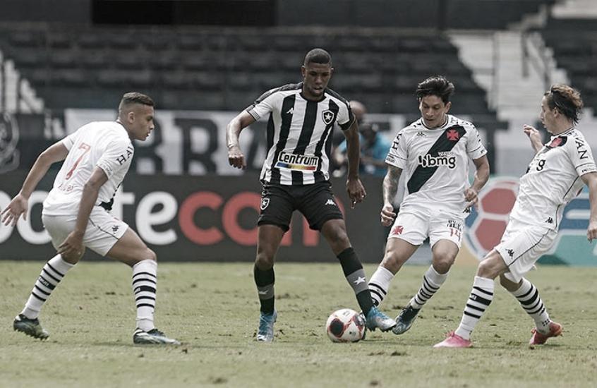 Com novos treinadores, Vasco e Botafogo fazem clássico carioca na Série B