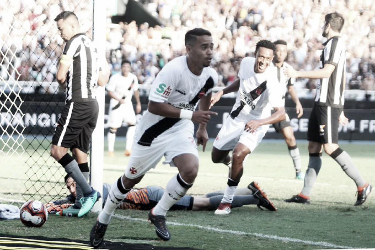 Com gol no último minuto, Vasco vence o Botafogo e sai na frente em decisão do Carioca
