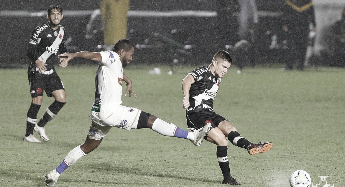 Vasco sofre pressão, mas segura empate com Fortaleza em São Januário