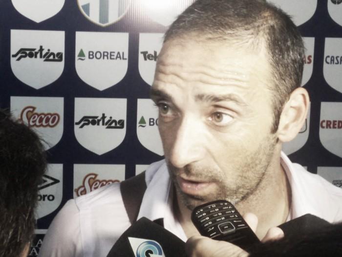 """Azconzábal: """"La entrega de este equipo es total"""""""