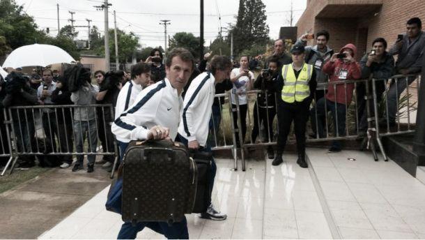 Boca llegó a Córdoba en búsqueda del bicampeonato