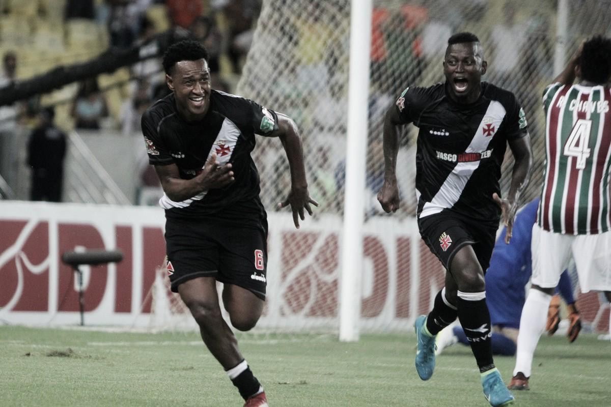Com gol no último minuto, Vasco bate Flu no Maracanã e avança à decisão do Carioca