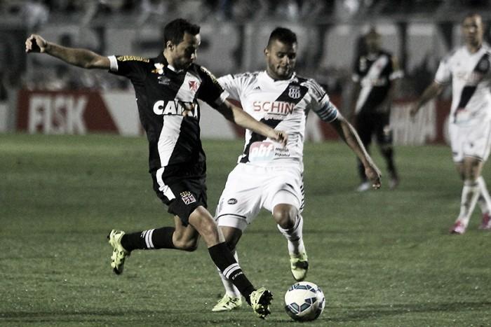 Após sequência ruim, Vasco almeja reabilitação contra Ponte Preta em Campinas