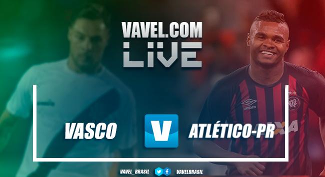 The Vasco da Gama game against Atlético-PR LIVE in the Brazilian league