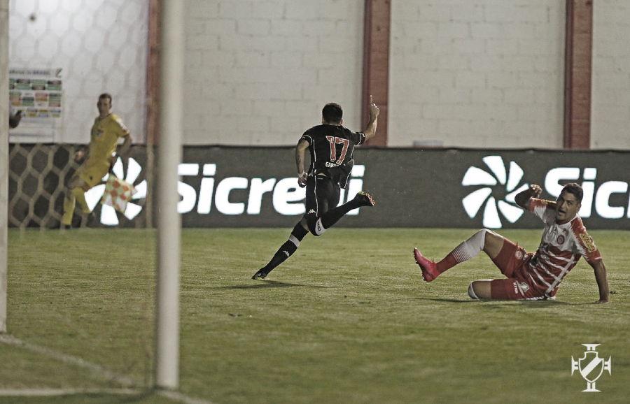 Vasco vence Tombense fora de casa e avança à terceira fase da Copa do Brasil