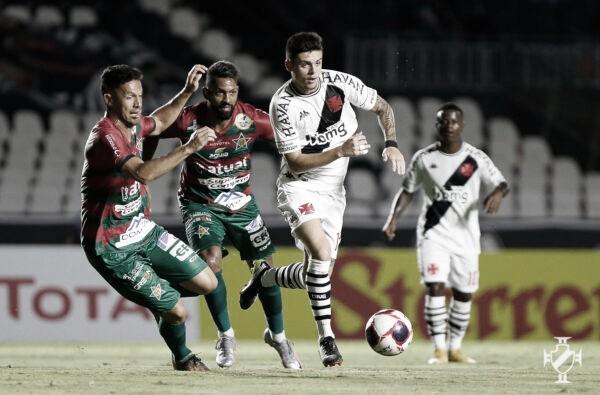Interino do Vasco vê evolução de garotos e aponta ajustes após derrota na estreia