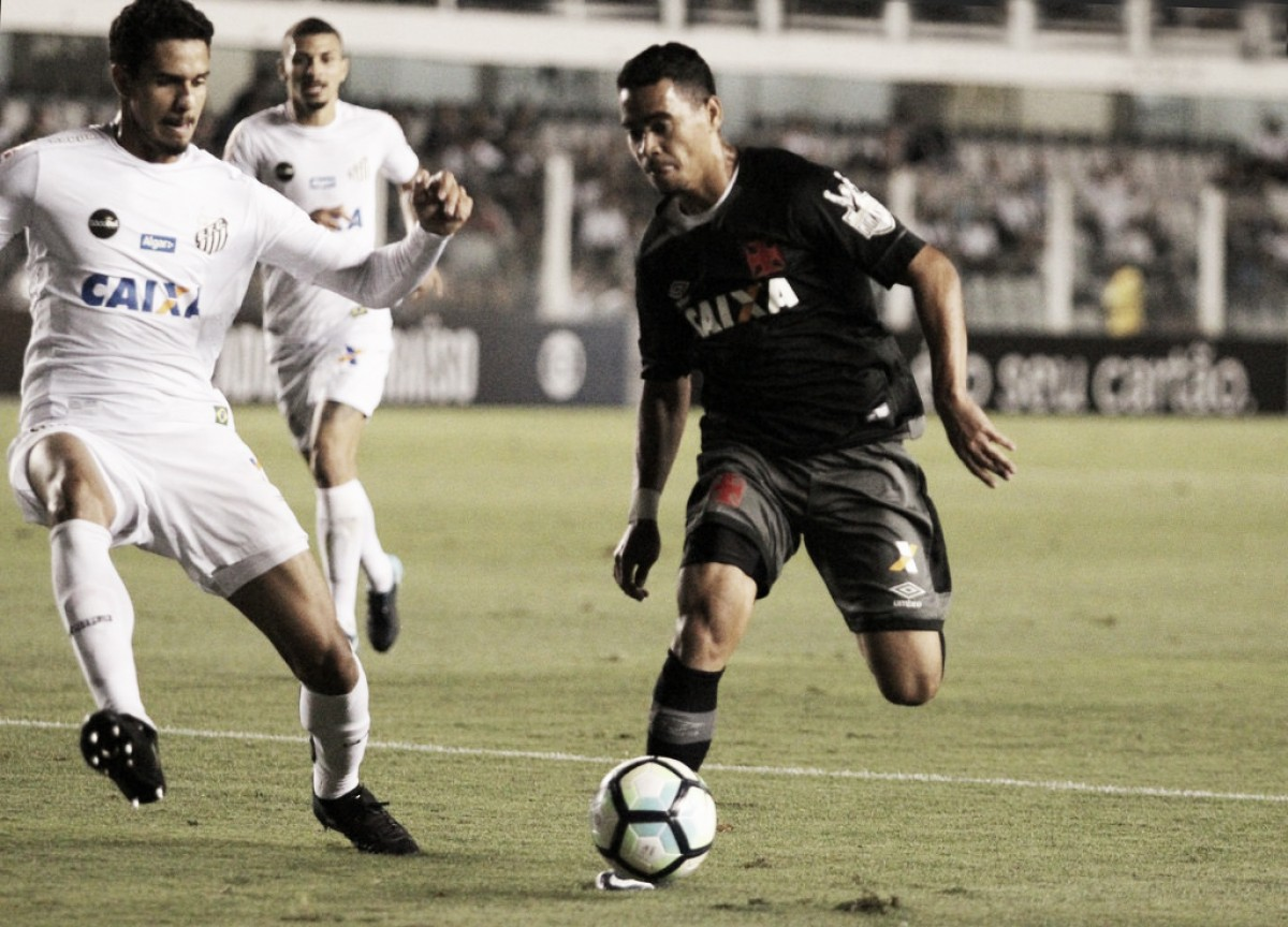 Vasco busca reação no Brasileirão contra Santos para se afastar de vez da zona de rebaixamento