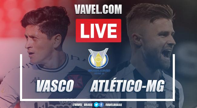 Gols e melhores momentos de Vasco 3x2 Atlético-MG pelo Campeonato Brasileiro